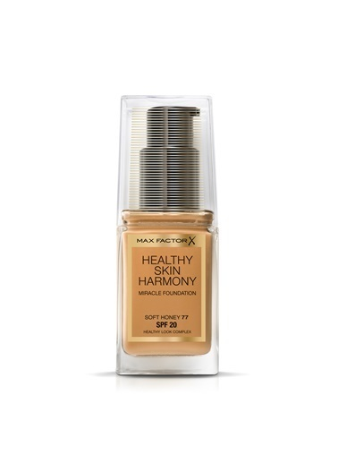 Max Factor  Healthy Skın Harmony Mıracle Fondöten  77 Soft Honey Zebra